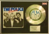 "Police - 7"" Platinum Disc+Cover - Roxanne"
